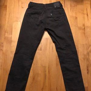 Levi Strauss Men's 514 Jeans (black) 32/32